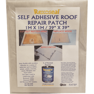 Rexoseal Fabric Backed Tape Patch