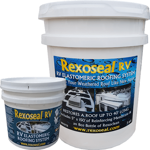 Rexoseal's RV Roof Coating