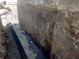 Foundation Waterproofing Step 2