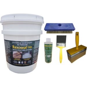 Rexoseal DEK Deck Coating Kit 18.9L