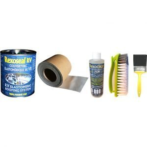 Rexoseal 1L Fabric Backed RV Roof Tape Kit