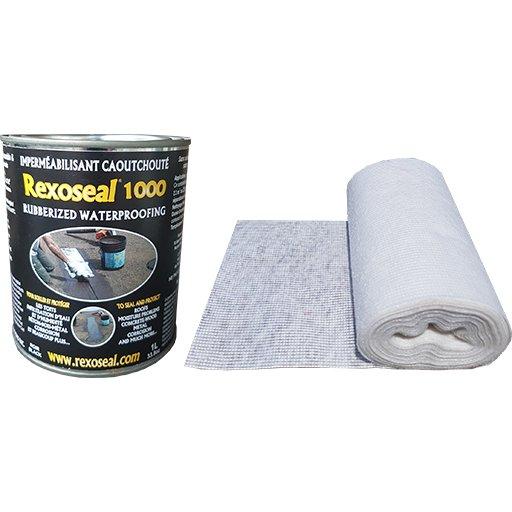 Rexoseal 1000 1L Multi-Purpose Sealant Repair Kit