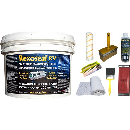 Rexoseal RV Roof Restoration Kit