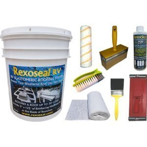 Rexoseal 15L RV Roof Restoration Kit