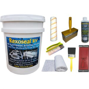 Rexoseal 18.9L RV Roof Restoration Kit
