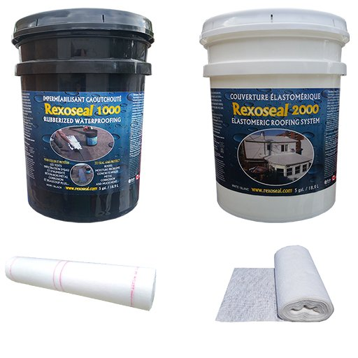 Rexoseal Flat and Low Slope Roofing System Kit